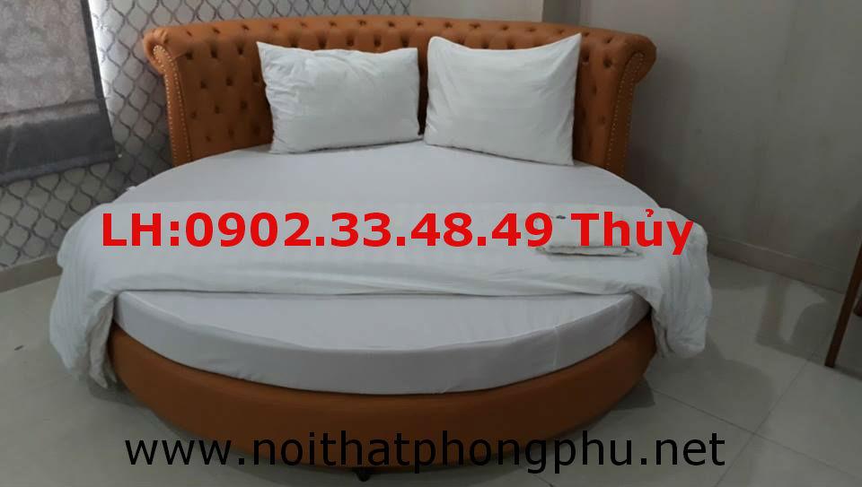giường tròn đẹp