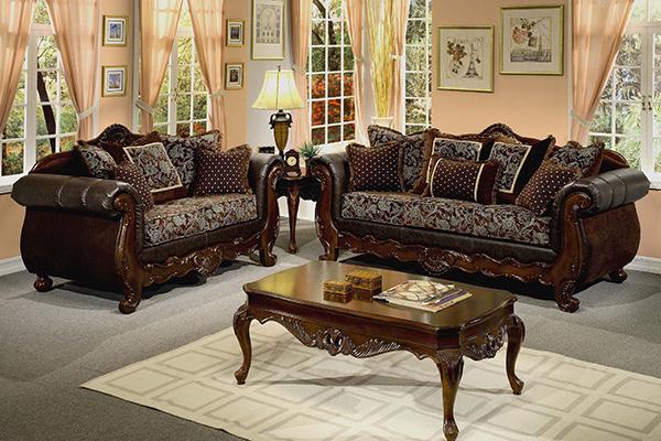 sofa bộ cổ điển