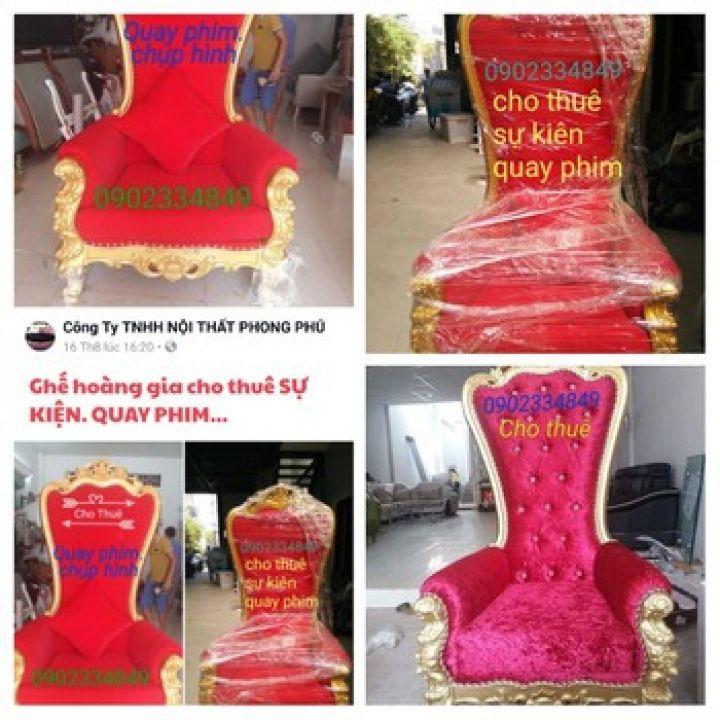 cho thuê ghế hoàng gia