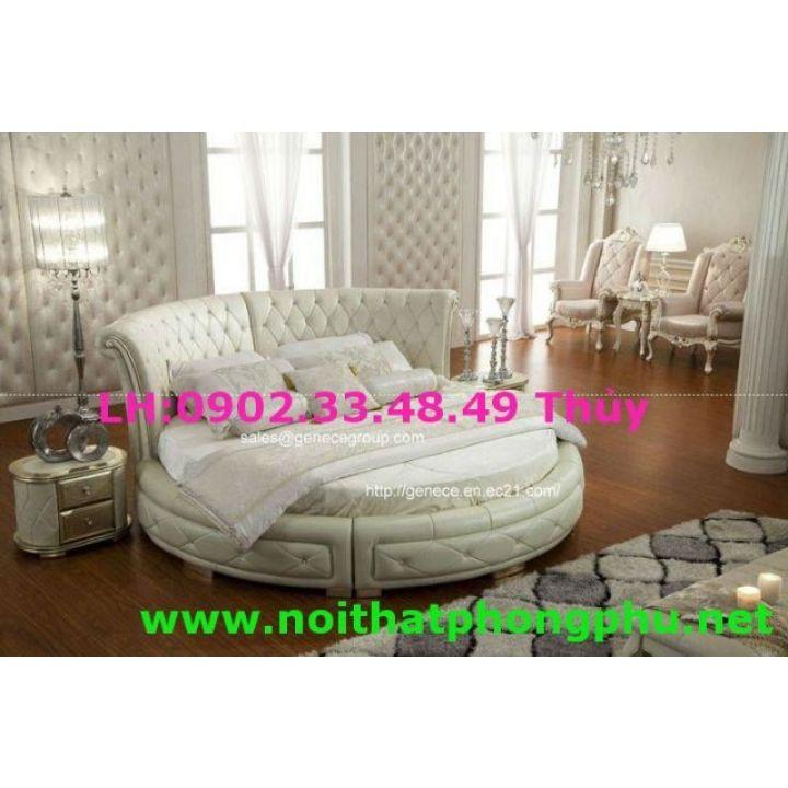 mẫu giường tròn đẹp hot nhất