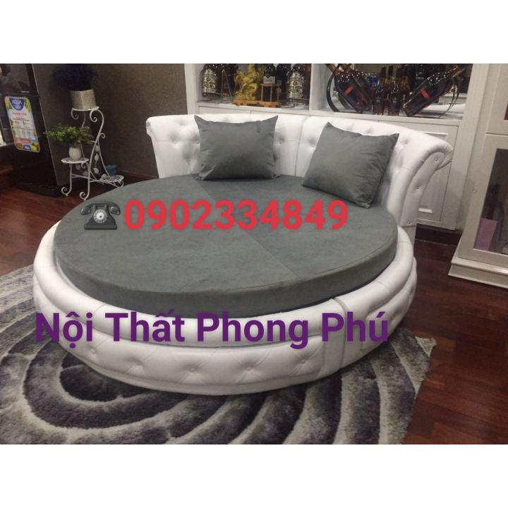 giường ngủ hình tròn sành điệu