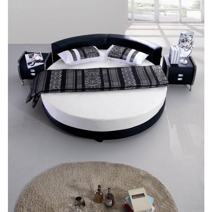 giường tròn sành điệu đẹp 1