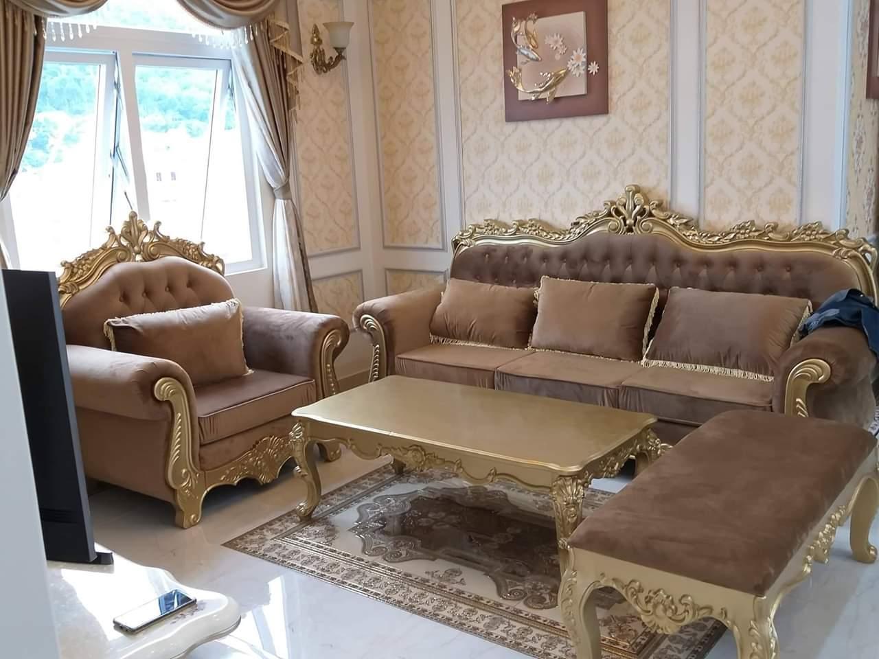 sofa co dien chau au dep